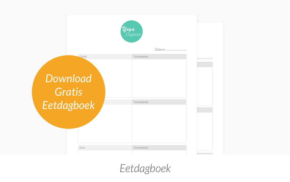 Eetdagboek downloaden