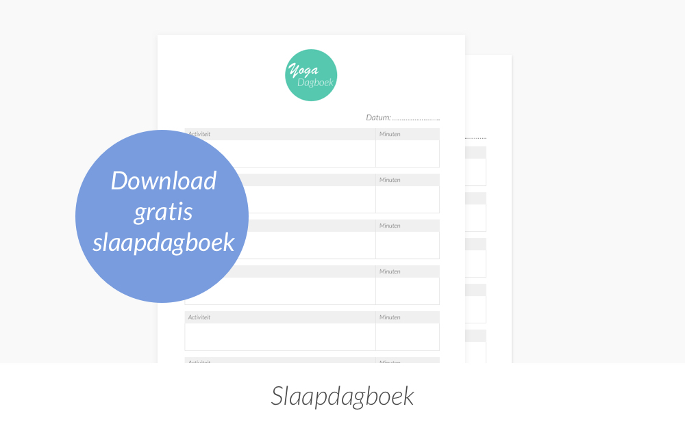 Slaapdagboek downloaden
