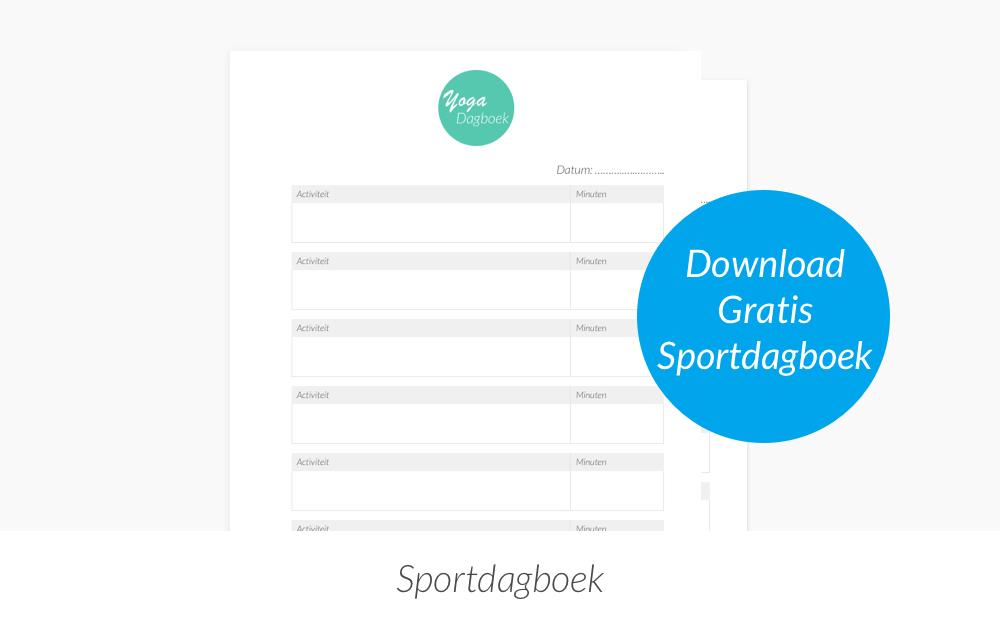 Sportdagboek downloaden